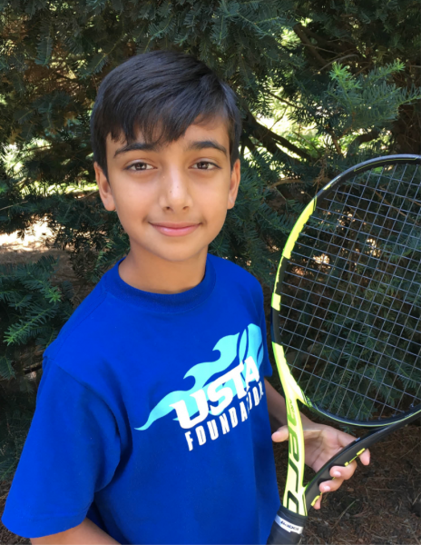 "Aditya Kaul ""Adi"" Gupta winner for the 10 and Under division of the NJTL Essay Contest"