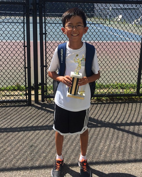 "Justin Lee will represent the New England Team at the Capital Clash (green ball event) – ""Zonals"" for 10 & Under."